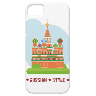 Housing of mobile Russian Style iPhone 5 Cover