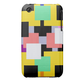 Housing square of colors iPhone 3 cases