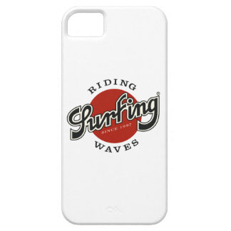 housing surfing riding waves case for the iPhone 5