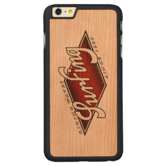 housing surfing riding waves surf carved® cherry iPhone 6 plus case