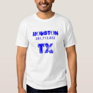 Houston, 281,713,832, Tx T-shirt