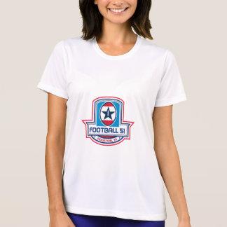Houston American Football 51 Stars Crest Retro T-Shirt