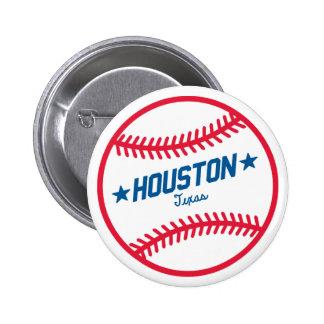 Houston Baseball Button