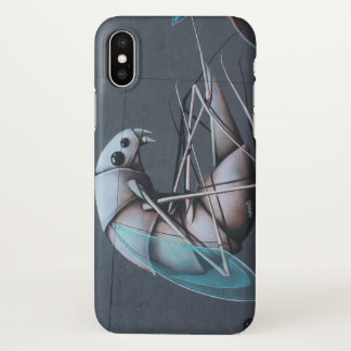 Houston Bug Graffiti iPhone X Case