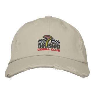 Houston Cobra Club Hat Embroidered Hat