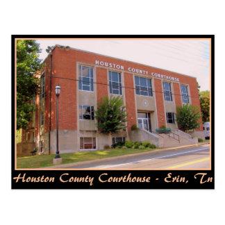 Houston County Courthouse - Erin, TN Postcard