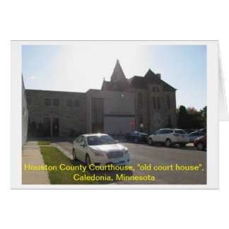 "Houston County Courthouse ""old court house"" Card"