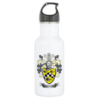 Houston Family Crest Coat of Arms 532 Ml Water Bottle