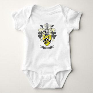 Houston Family Crest Coat of Arms Baby Bodysuit