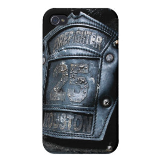 Houston Fire Fighter  Case For iPhone 4