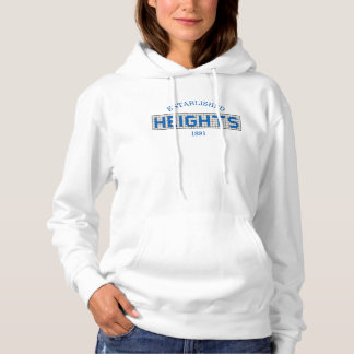 Houston Heights Blue and White Tile Hoodie