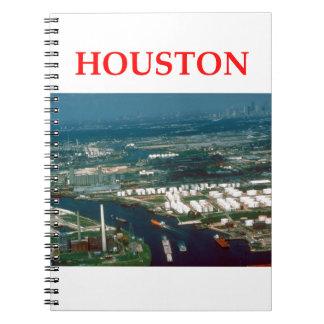 houston note books