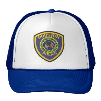 houston police trucker hat