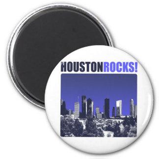 Houston Rocks! Magnet