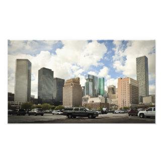 Houston Skyline Art Photo