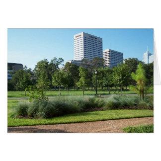 Houston Skyline Note Card