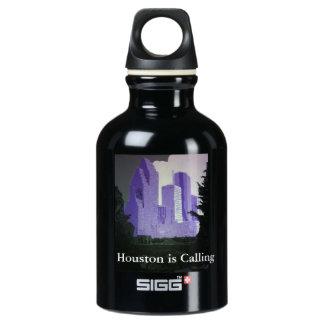 Houston Skyline SIGG Traveller 0.3L Water Bottle