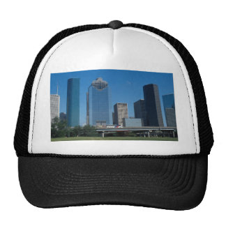 Houston skyline, Texas, U.S.A. Mesh Hat