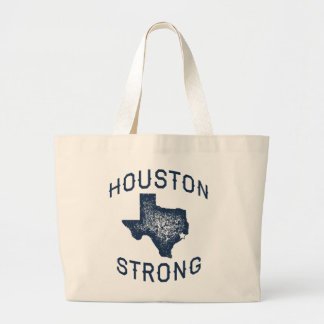 Houston Strong - Harvey Flood Relief Large Tote Bag