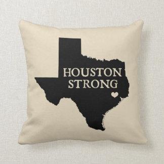 Houston Strong State of Texas Throw Pillow