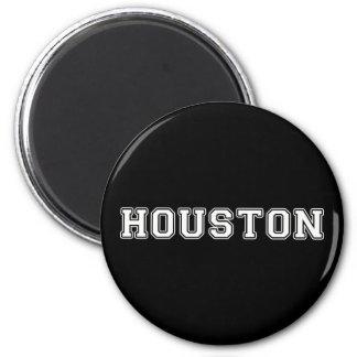 Houston Texas 6 Cm Round Magnet