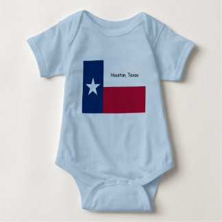 Houston, Texas baby bodysuit, sleeper Baby Bodysuit