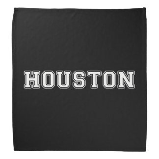 Houston Texas Bandana