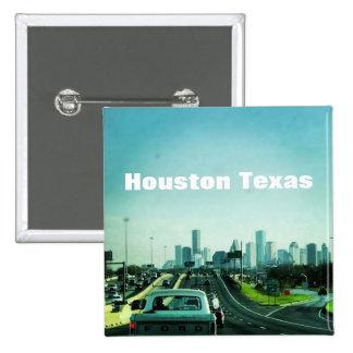 Houston Texas Button