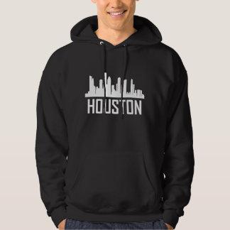 Houston Texas City Skyline Hoodie