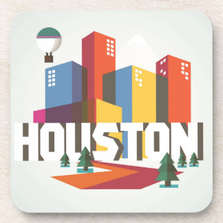 Houston, Texas | Cityscape Design Coaster