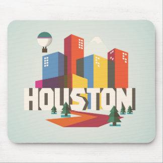 Houston, Texas | Cityscape Design Mouse Pad