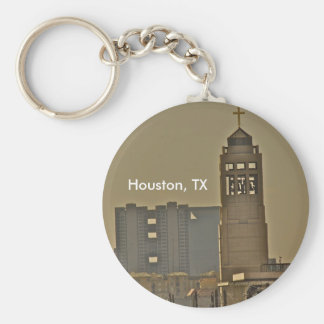 Houston Texas customizable keychain