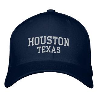 Houston texas embroidered baseball caps