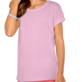 Houston Texas girls pink state outline tee