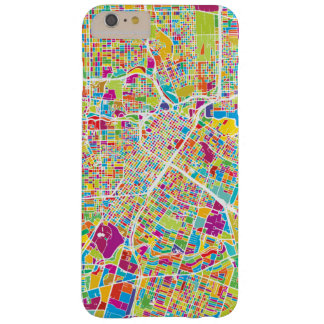 Houston, Texas | Neon Map Barely There iPhone 6 Plus Case