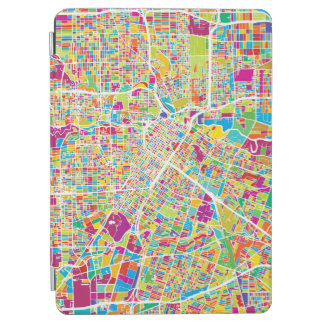 Houston, Texas | Neon Map iPad Air Cover