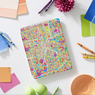 Houston, Texas | Neon Map iPad Cover