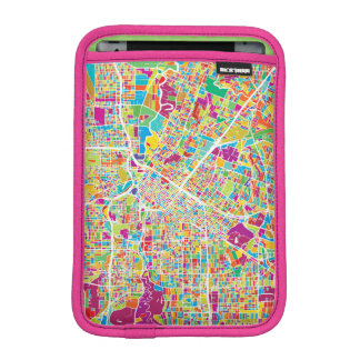 Houston, Texas | Neon Map iPad Mini Sleeve
