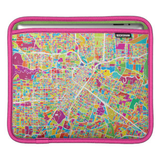 Houston, Texas | Neon Map iPad Sleeve