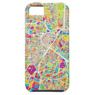 Houston, Texas | Neon Map iPhone 5 Covers