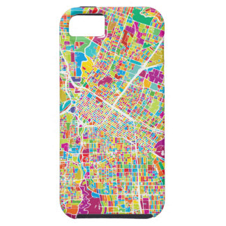 Houston, Texas | Neon Map iPhone 5 Covers