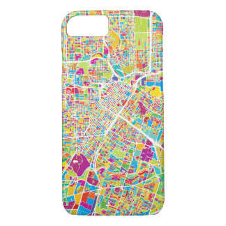 Houston, Texas | Neon Map iPhone 8/7 Case