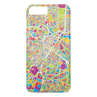 Houston, Texas | Neon Map iPhone 8 Plus/7 Plus Case