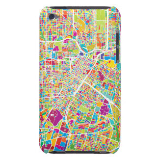 Houston, Texas | Neon Map iPod Touch Case