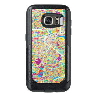 Houston, Texas | Neon Map OtterBox Samsung Galaxy S7 Case