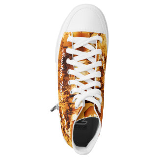 Houston Texas shoes Printed Shoes
