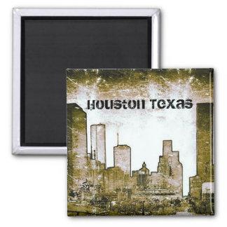Houston Texas Skyline Art (Magnet) Magnet