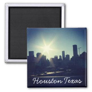 Houston Texas Skyline (Magnet) Square Magnet
