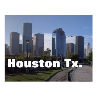 Houston Texas Skyline (Panoramic) Postcard