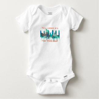 Houston, Texas Skyline - SG Jungle Baby Onesie